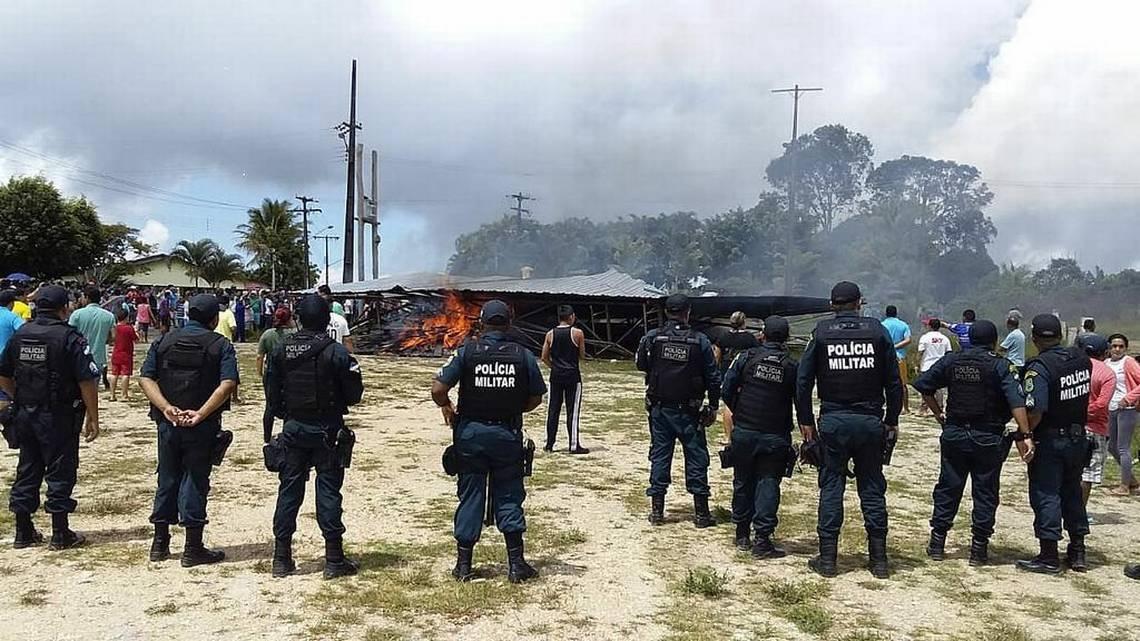 VIDEO. Brasil envía a sus tropas contra emigrantes Venezolanos