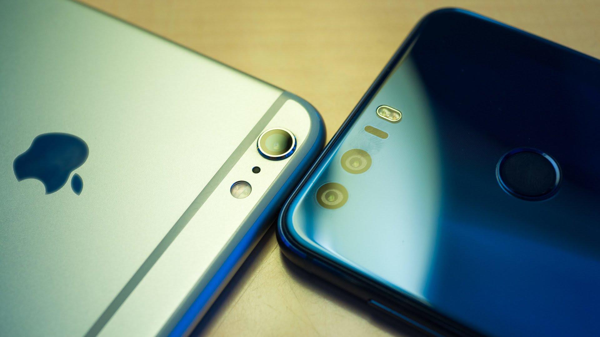 Huawei supera a Apple en la venta de smartphones