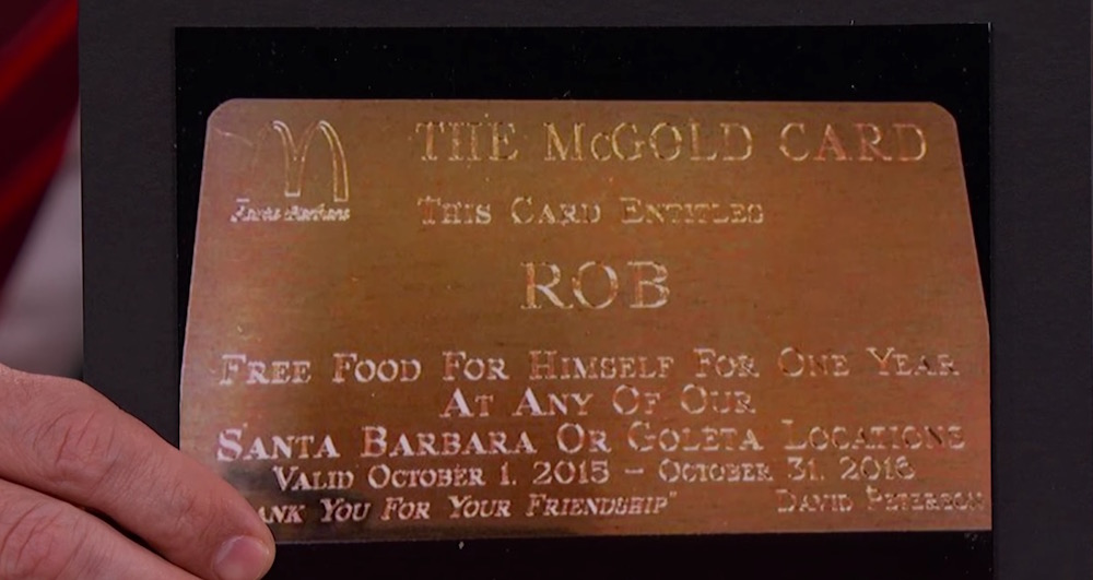 VIDEO. MacDonalds sortea su MACGOLD CARD.