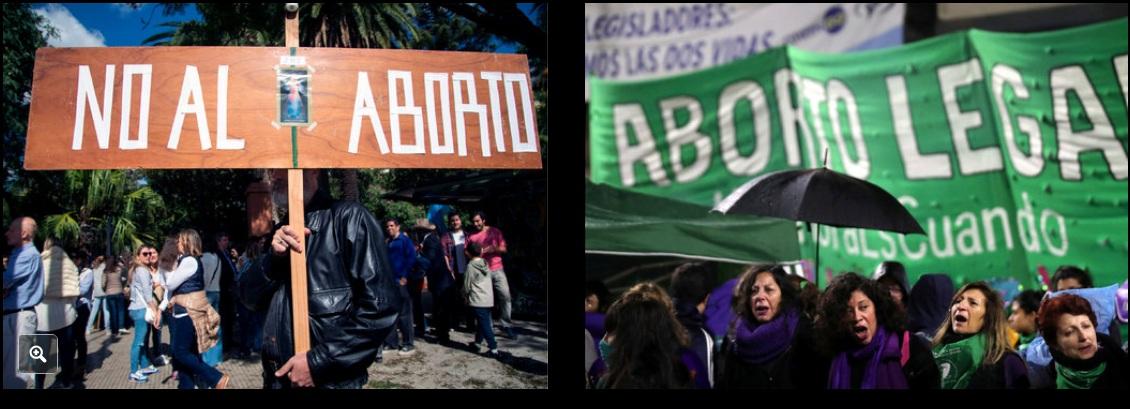 Votación sobre el aborto en Argentina genera protestas en toda América