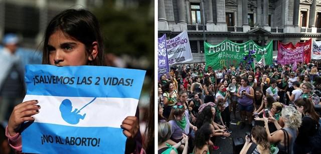 VÍDEO. Argentina expectante ante votación del proyecto de ley sobre el aborto