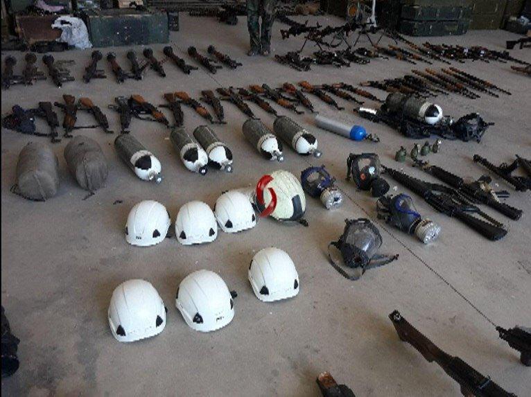 Ejercito Sirio vuelve a confiscar armas y comida de EEUU e Israel en territorios liberados del terrorismo