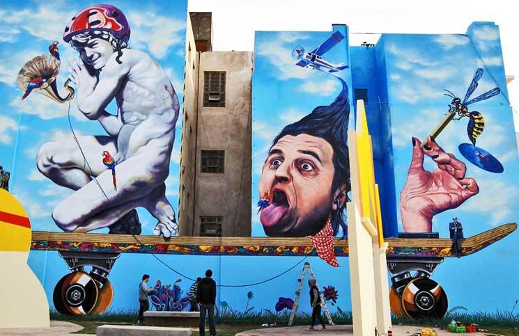 Artistas callejeros logran la victoria y ya será un crimen el arte informal