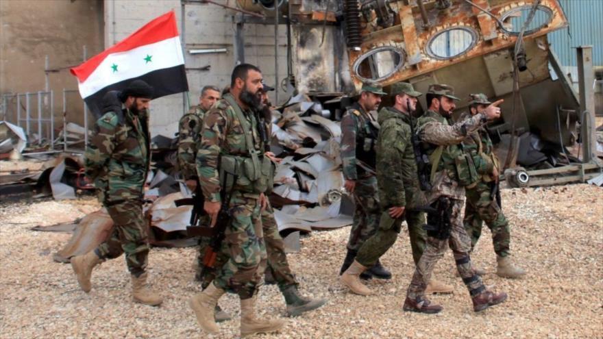 Ejercito sirio arrasa a Daesh en Al-Sweida para erradicarlos de la provincia de una vez por todas