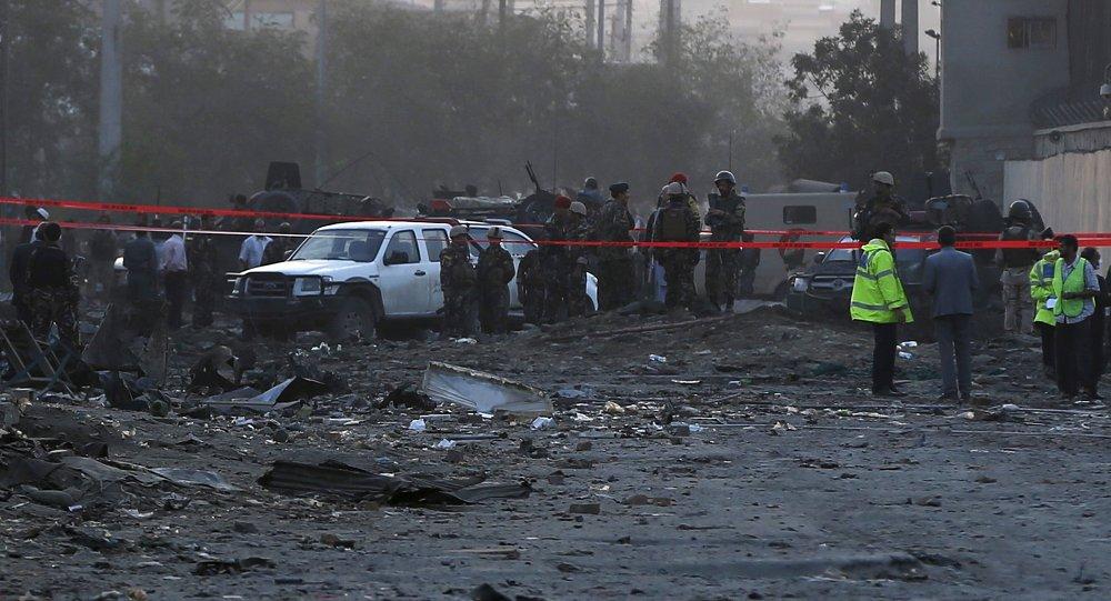 Mueren 48 personas en una terrible explosión en Kabul. Afganistán