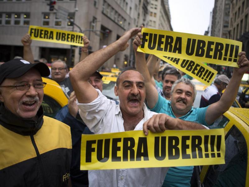 Justicia argentina inicia un proceso penal contra taxista caza Uber