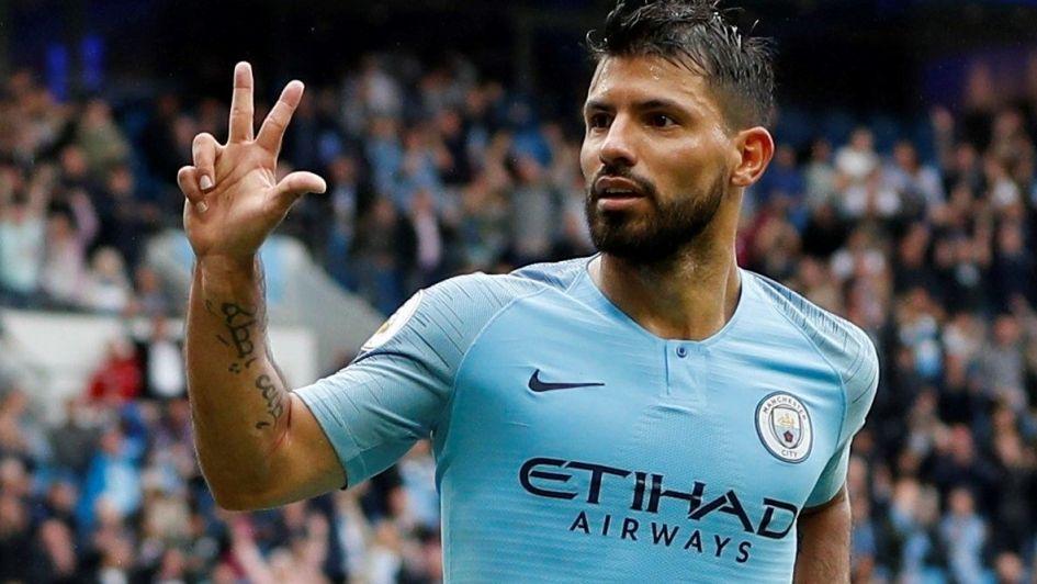 El Kun se viste de héroe y marca triplete para darle la victoria al Manchester City