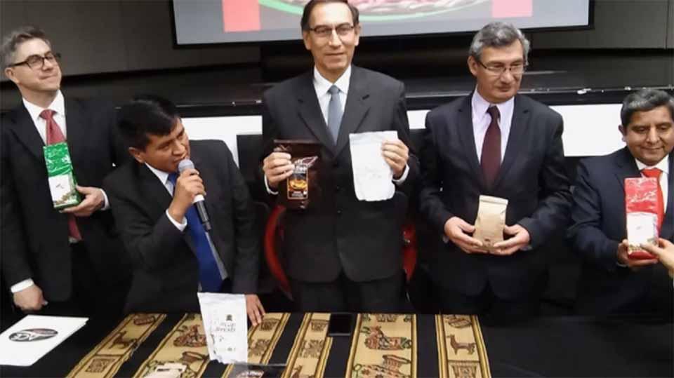 Gobierno peruano presenta la marca de café que se dispone a conquistar el mundo