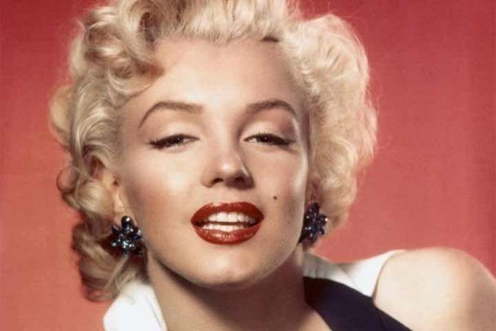 La escena nunca vista de la famosa actriz Marilyn Monroe