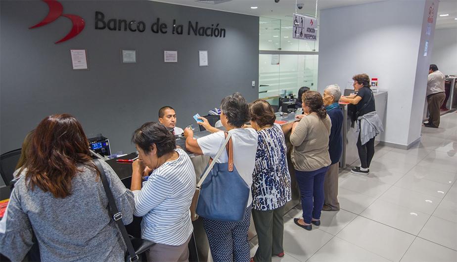 Pensionados en Perú tendrán un nuevo horario especial para cobrar en el Banco de la Nación