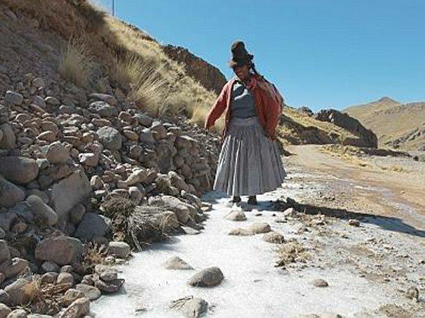 Se esperan fuertes lluvias y nevadas en la sierra central y sur. Perú