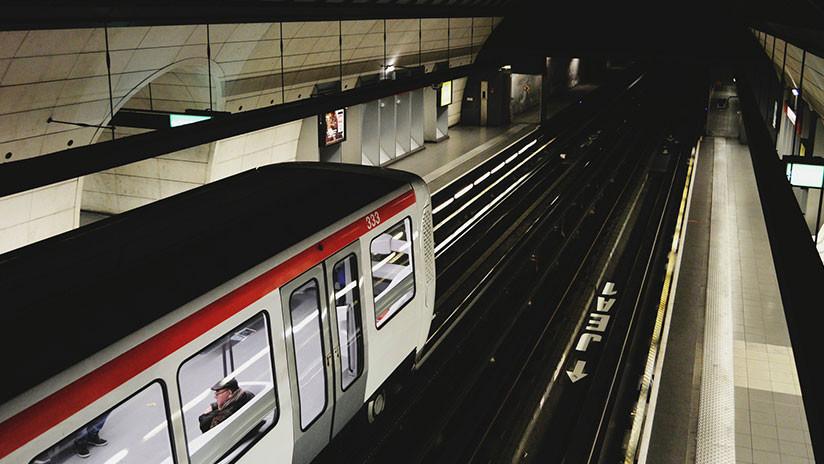 VIDEO. Joven se duerme en el tren y termina en un lugar parecido Silent Hill