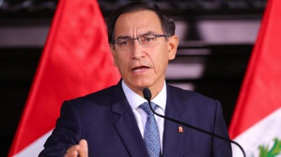 """Perú: Vizcarra afirma que no se """"chupa"""" ante sucias pretensiones fujimoristas"""