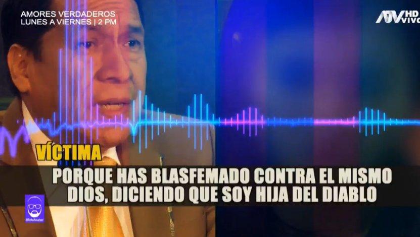 Perú. Concubina denuncia las aberraciones del pastor que ordenó la toma del estadio Aliancista (VIDEO)