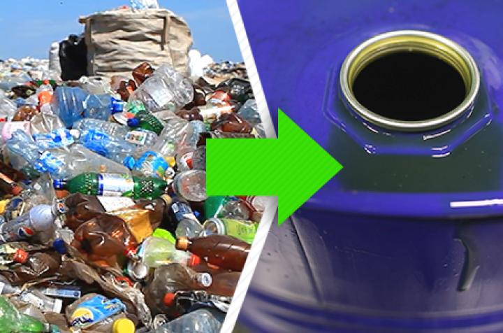 Compañía de Austria logra reconvertir el plástico en petroleo con un innovador procedimiento