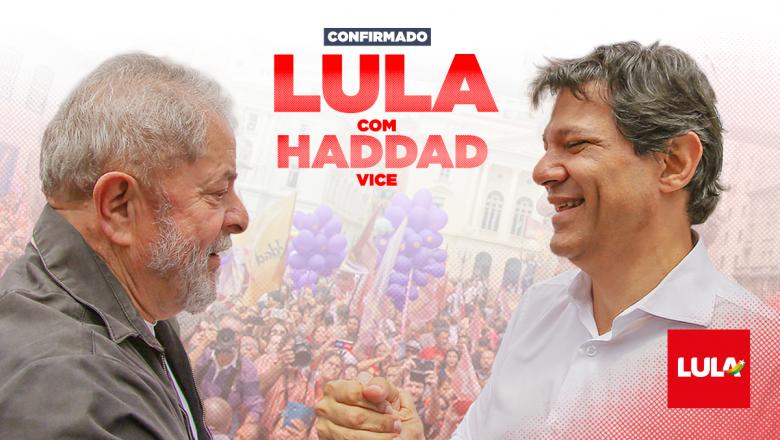 Brasil. Lula da Silva afirma que la victoria de Haddad seria el triunfo del pueblo