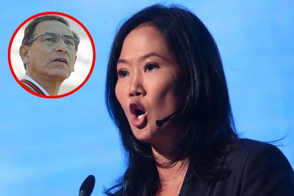 Keiko Fujimori planea tumbar a Vizcarra con complicidad de su bancada y Chavarry