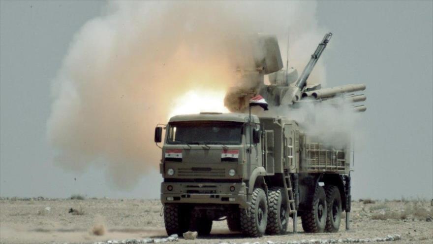 Sistema antiaéreo sirio demuestra su poder ante ataques a Latakia