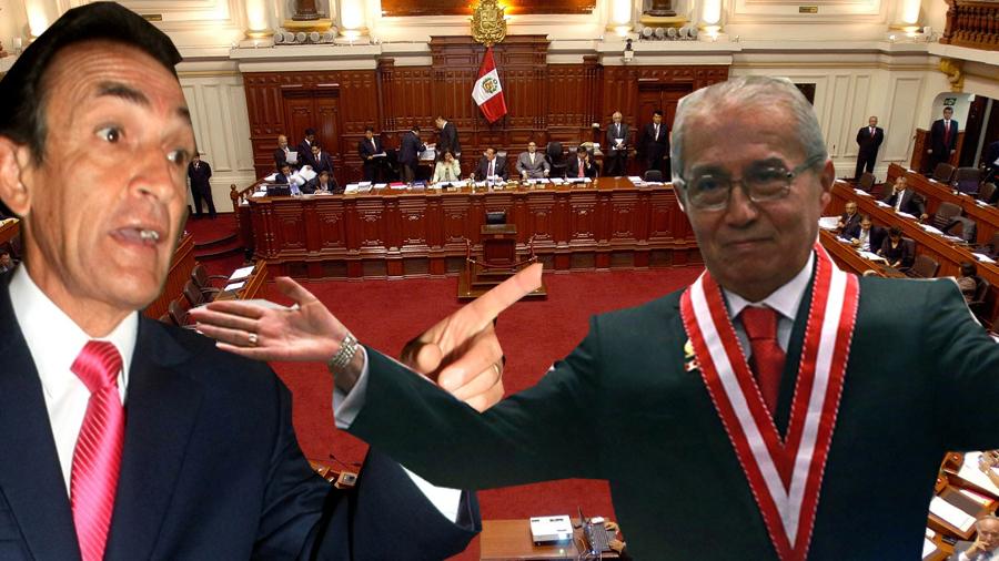 Sucio Fiscal fujimorista Pedro Chávarry sigue a cargo de investigación a Becerril