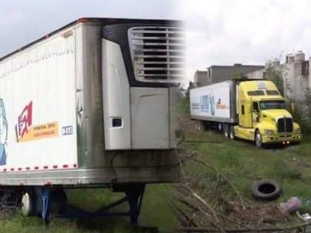 ¡QUÉ DESCARO! un segundo camión es encontrado con más de cien cadáveres en México