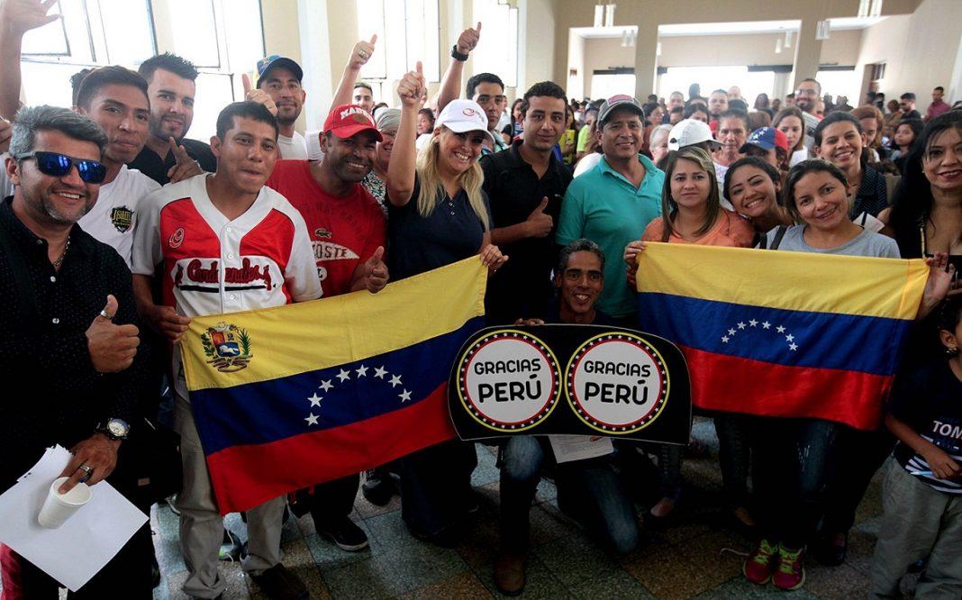 Perú. Veneolanos tienen hasta el 31/10 para obtener permiso de permanencia.