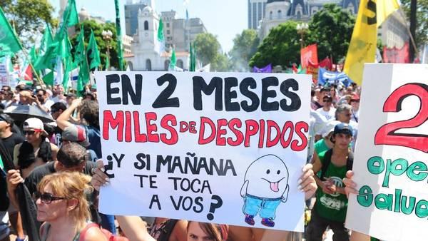 Agosto argentino registró más despidos que en todo el año pasado
