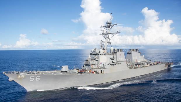 EEUU viola zona maritima reclamada por China con uno de sus destructores
