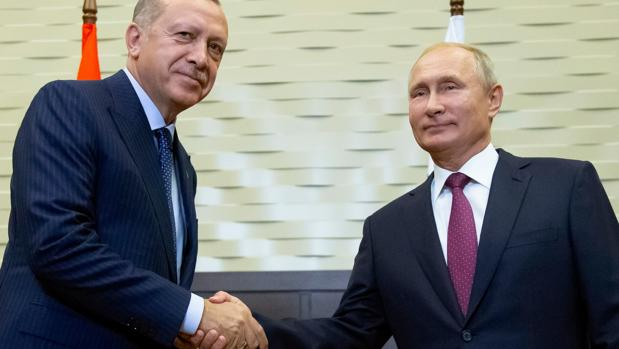 Rusia y Turquía planean crear una zona desmilitarizada en le región de Idlib