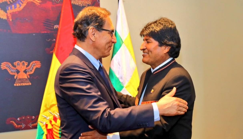 Vizcarra concreta sus acuerdos en el IV Gabinete Binacional Perú-Bolivia
