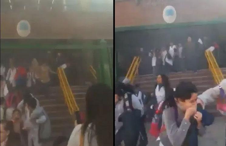 Argentina: Fuerte incendio genera pánico en escuela de Caballito