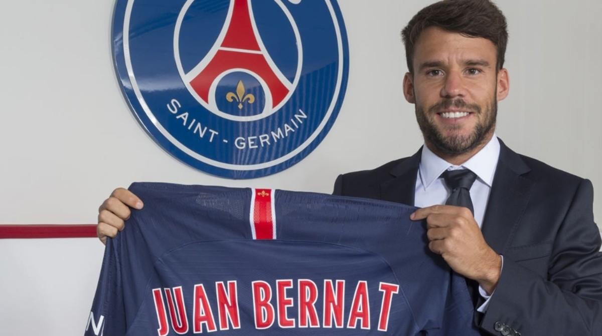 PSG Lleva a cabo el fichaje del español Juan Bernat
