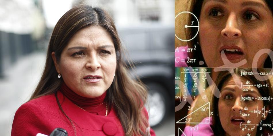 Eufórica fujimorista Karina Beteta a Vizcarra tendrá que mandar sus tanques al Congreso