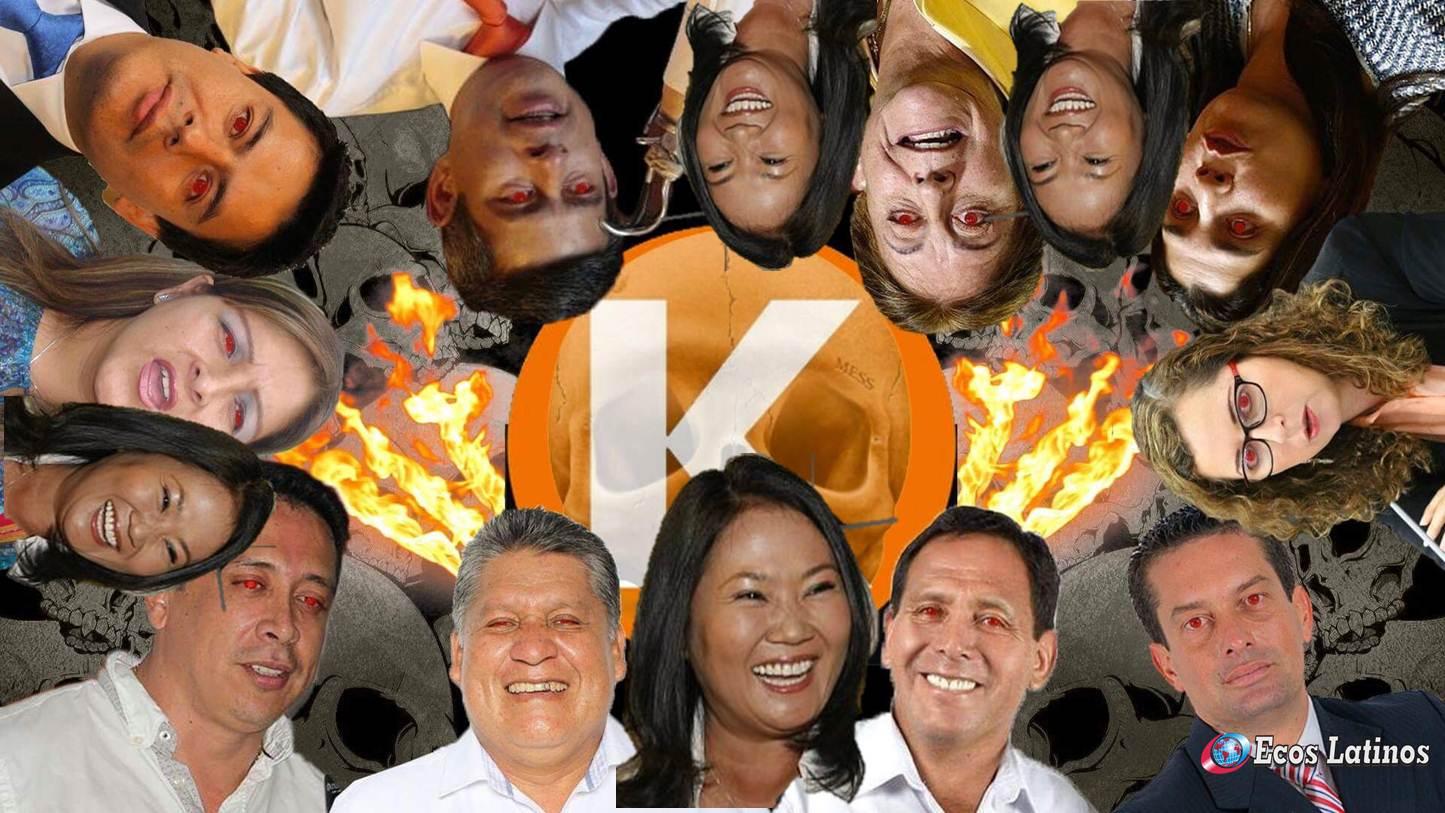 """Keiko Fujimori dice que su baja popularidad es por su """"lucha contra la corrupción"""""""