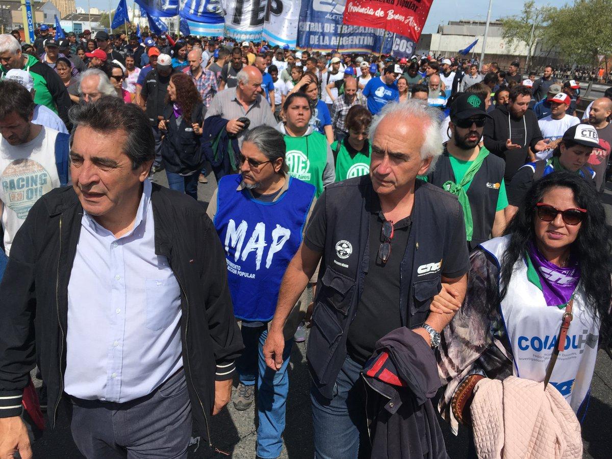 Argentina: Protesta en el puente Pueyrredón es fuertemente reprimida por la policía