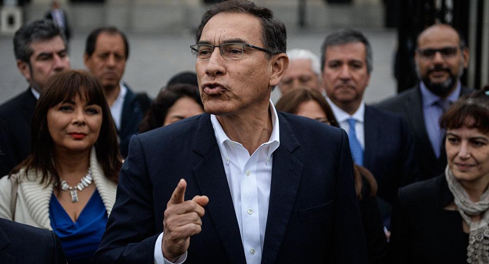 Vizcarra asegura que luchará contra la corrupción por el fuerte daño que causa a los pobres