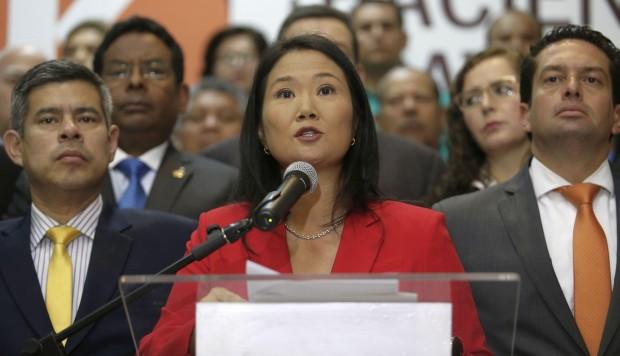 Peru. Investigación de Keiko Fujimori comenzó por una denuncia colocada por un estudiante