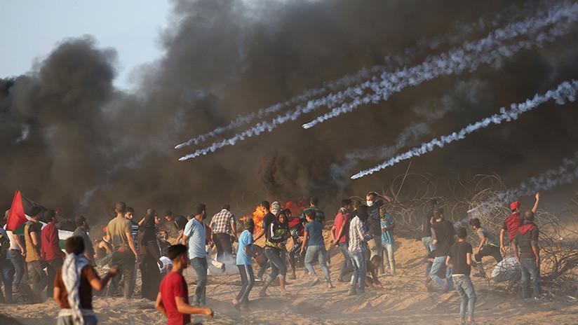 VIDEO. Seis palestinos asesinados y mas de 140 son heridos por fuerzas Israelíes