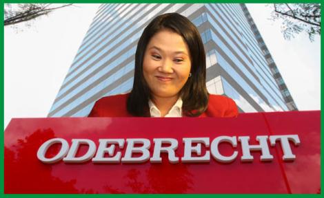 Odebrecht complica a Keiko y entrega documentos que prueban pagos por mas de $:500.000