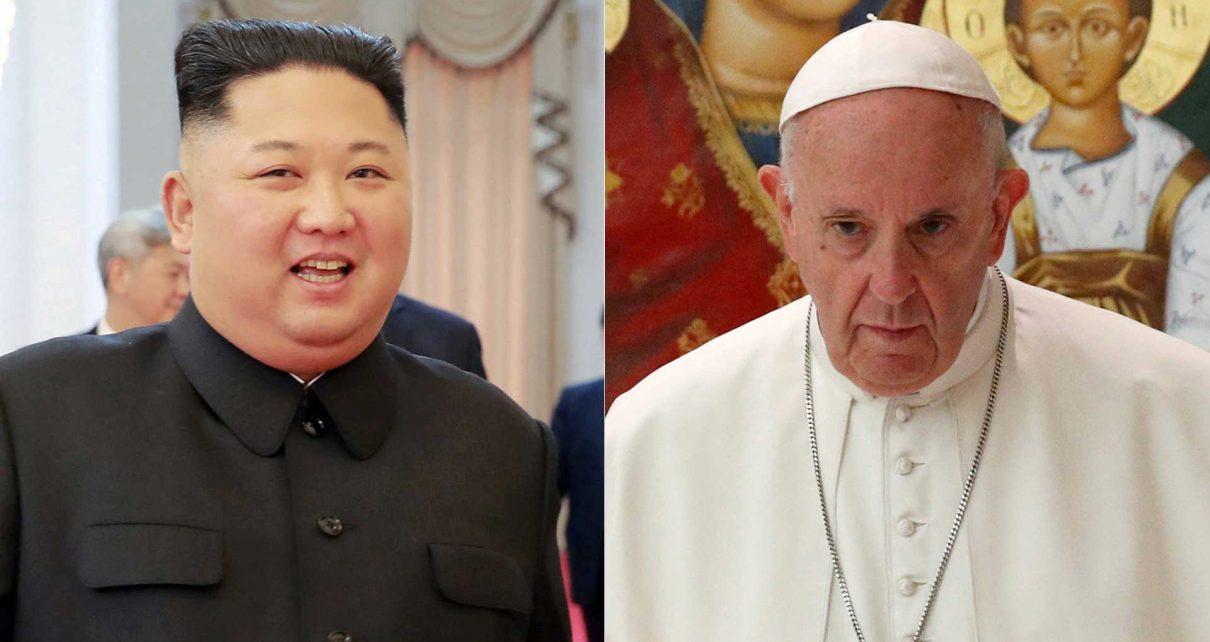 VIDEO.Papa Francisco es invitado a corea del norte por Kim Jong-un