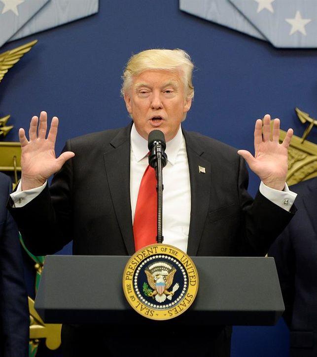 Trump declara saber que es repudiado en otros países