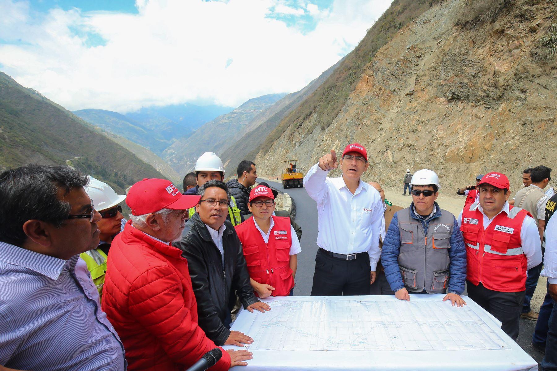 VIDEO.Peru . Región la libertad es visitada por presidente Vizcarra para la inauguración de las obras realizadas.
