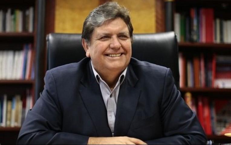"""Alan García asegura que no le teme a ninguna información procedente de Brasil pues """"no irá a la cárcel"""""""
