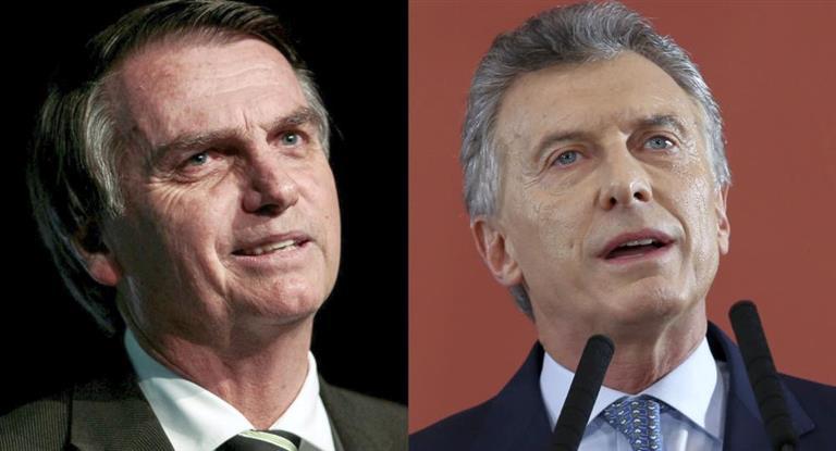 """""""La cara del interés"""" Bolsonaro asegura que tendrá excelentes relaciones en apoyo a Macri. Argentina"""