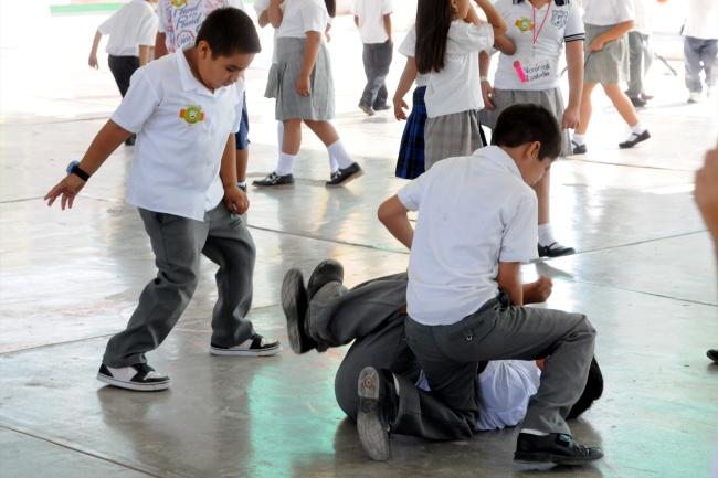 Perú. Niña de 7 años sufre de bullying y es maltratada y golpeado por sus compañeros de clase