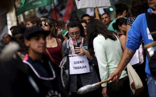 Argentina: Numero de personas que han perdido su empleo ya se acerca a los 100.000 en menos de 4 meses