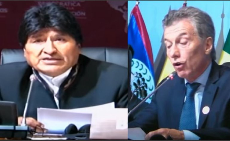 VIDEO. Argentina. Evo Morales le manda un mensaje muy suave a Mauricio Macri