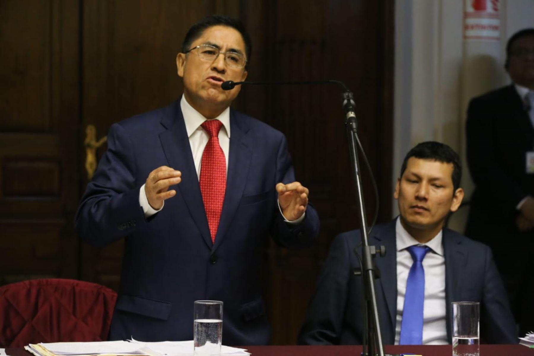 Perú. Pablo Sánchez espera que expulsen a Hinostroza de España lo más pronto posible