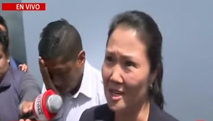 """VIDEO: El frenético llanto de la """"Señora K"""" después de que a su corrupto padre se le anulara el indulto humanitario"""