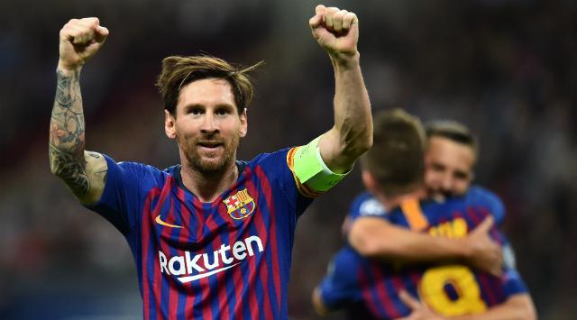 Messi es elegido como el mejor jugador de la liga española en septiembre