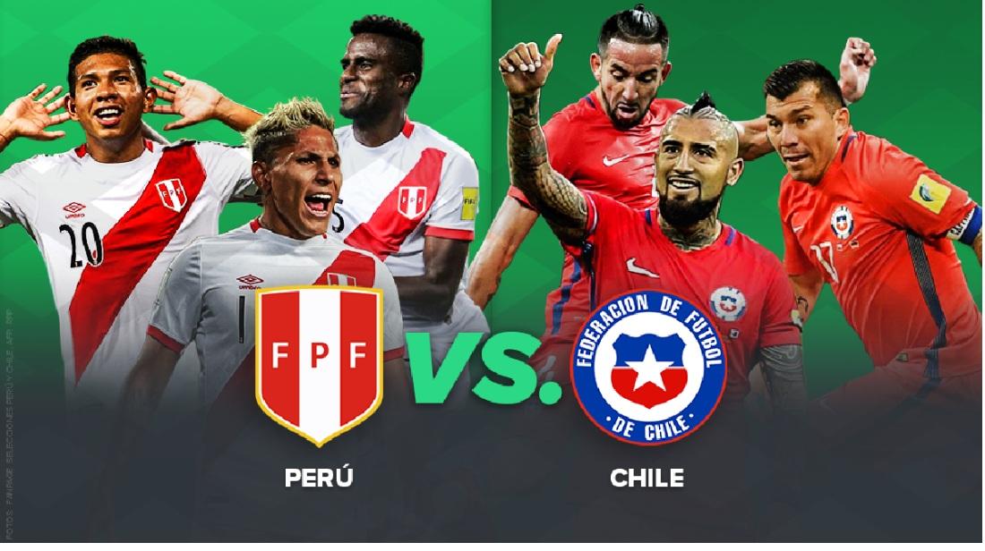 Perú vs Chile: conoce las probables alineaciones para el 'Clásico del Pacífico'